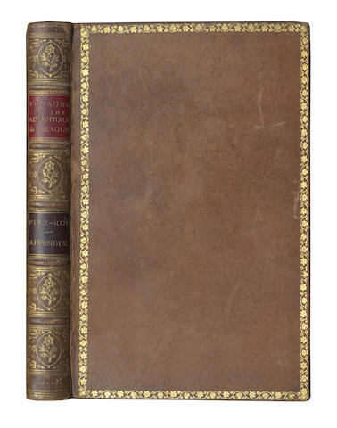 DARWIN (CHARLES), ROBERT FITZROY and PHILIP PARKER KING Narrative of the Surveying Voyages of His Majesty's Ships Adventure and Beagle, ... Appendix to Volume II only, 1839