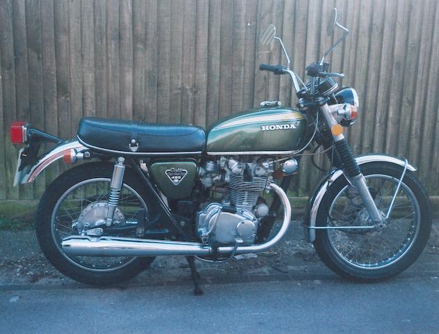 1971 Honda 450cc CB 450  Frame no. CB450E 50113255  Engine no. CB450E 50113269