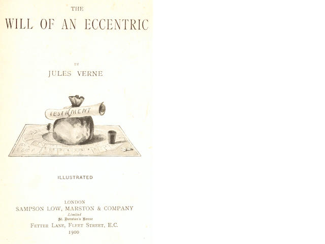 VERNE (JULES) The Will of an Eccentric, 1900