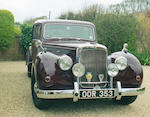 1955 Alvis TC21/100 'Grey Lady' Mulliner Saloon, Chassis no. 25900 Engine no. 25900