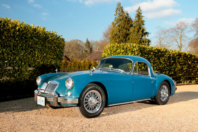 1958 MGA 1500 Coupé, Chassis no. HND4338508 Engine no. to be advised