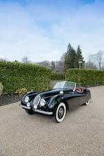 Left hand drive,1952 Jaguar XK120 Roadster  Chassis no. 672363 Engine no. W5072-8