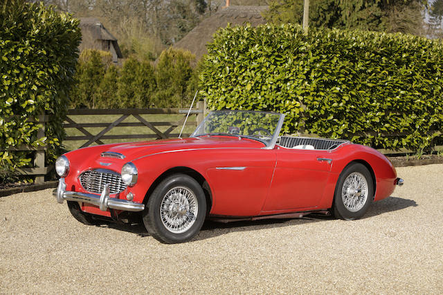 c.1957 Austin-Healey 100/6 BN4 Roadster, Chassis no. BN4L-O-48858 Engine no. 26CFH48858