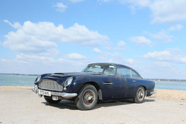 In the current family ownership since 1971,1963 Aston Martin DB4 'Series V' Vantage Sports Saloon  Chassis no. DB4/1148/R Engine no. 370/1116/SS
