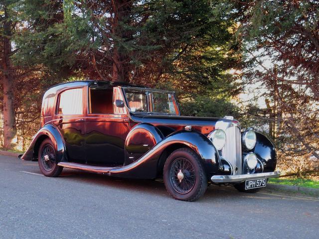 Believed circa 12,100 miles from new,1941 Lagonda V12 Sedanca de Ville  Chassis no. 16046 Engine no. 16046