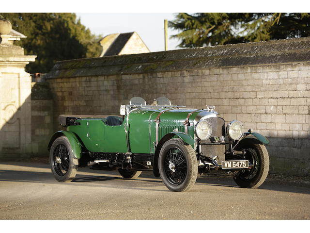 1929 Bentley 4½-Litre Tourer, Chassis no. FB3324 Engine no. XF3513
