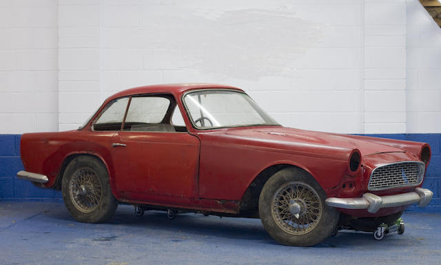 The first production model,1959 Triumph Italia Coupé  Chassis no. TS51639LCO Engine no. TS51658E