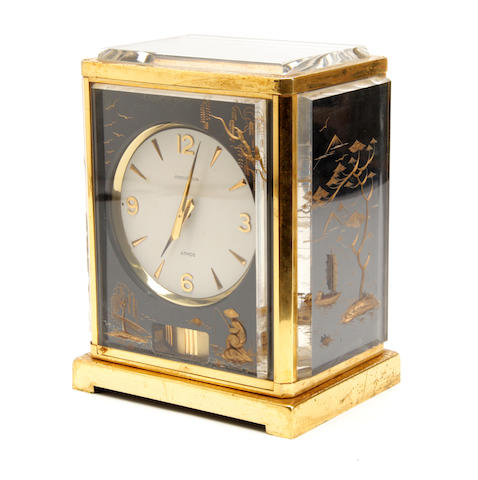A 20th century Atmos clock Jaeger Le Coultre, caliber 526-5