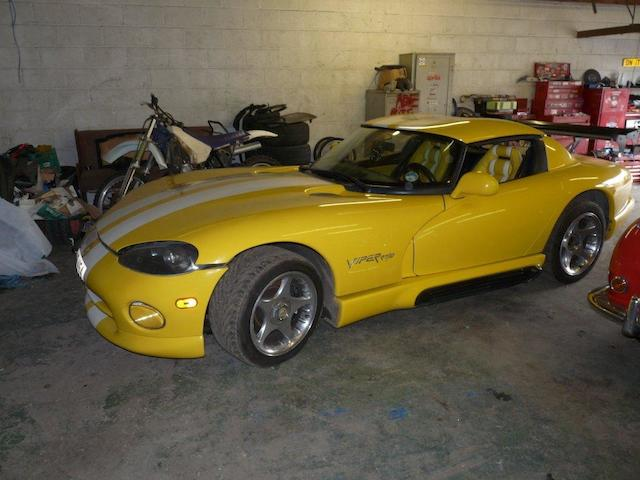 Property of a deceased's estate,1995 Chrysler Viper Venom Roadster  Chassis no. 1B3BR65E2SV200181