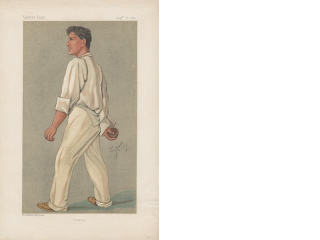 VANITY FAIR - collection of prints, mostly sporting - collection in 2 folders