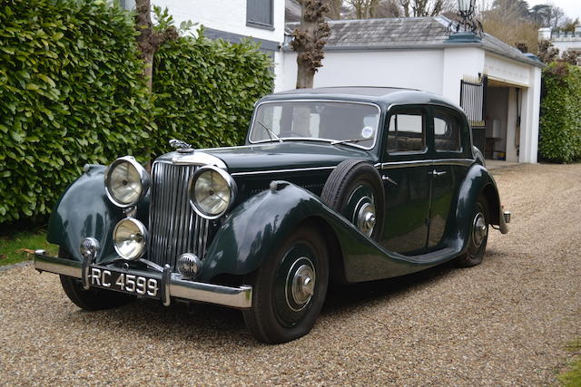 Single family ownership since 1941,1936 SS Jaguar 2½-Litre Sports Saloon  Chassis no. 11469 Engine no. to be advised
