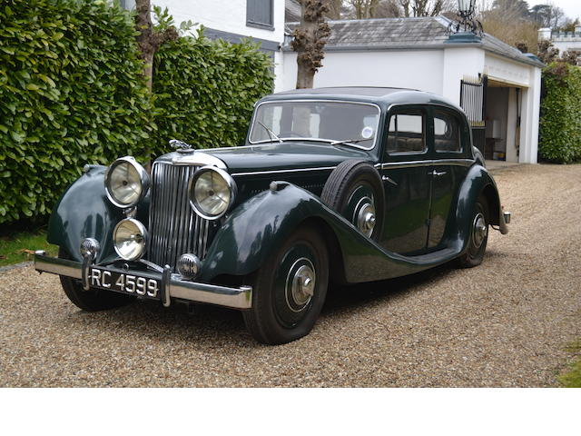1936 Jaguar SS 2-Axle Rigid Body Saloon