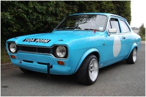 1974 Ford Escort Mk1 Saloon, Chassis no. BBATPT36280