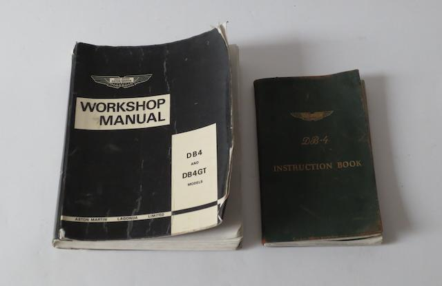 An Aston Martin DB4 Instruction Book,