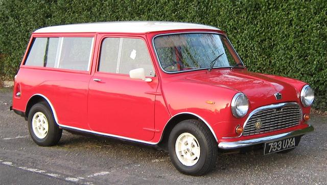 1963 Austin Mini Traveller Estate