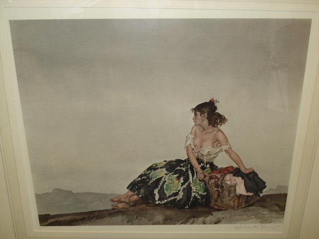 William Russell Flint (Scottish, 1880-1969) Carmelita