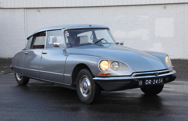 1970 Citroën DS 21 IE, Chassis no. 00FA8150