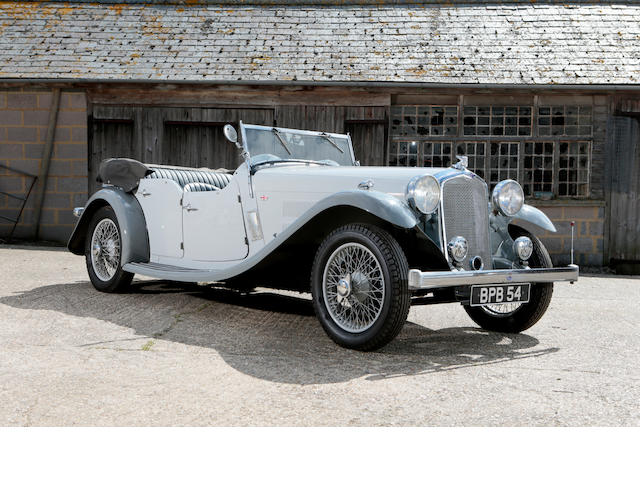 1933 Rover 14/6 Speed Pilot Sports Tourer, Chassis no. 36173 Engine no. 36173