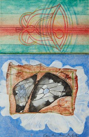 Ceri Richards (British, 1903-1971) Study for La Cathedrale Engloutie