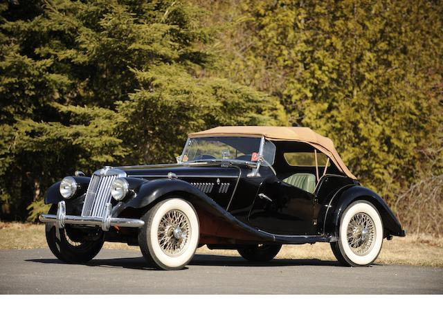 1954 MG TF 1500 Roadster , Chassis no. HDA46/7249