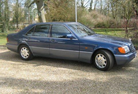 1992 Mercedes-Benz 600SEL Saloon, Chassis no. WDB1400572A0478 Engine no. 12098022-0009225
