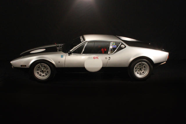 Factory Prototype Coupe,1972 De Tomaso Pantera Group 3  Chassis no. 1070