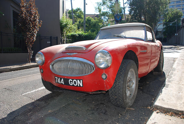 Works prepared by the BMC Competitions Department,1962 Austin Healey 3000 MkIIA Convertible  Chassis no. HBT7/21662 Engine no. 29F-RU-H/2513