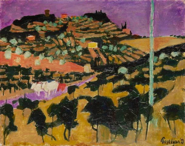 Julian Trevelyan R.A. (British, 1910-1988) Tuscany