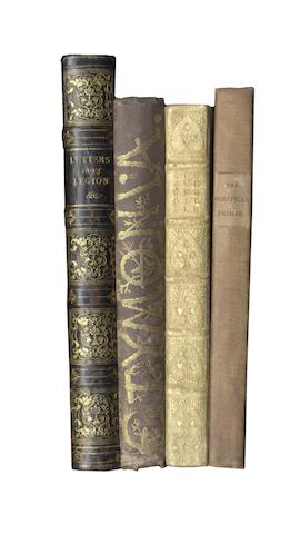 RUSKIN(JOHN) Sesame and Lillies, in K. Adams binding, 1899; and othrs (22)