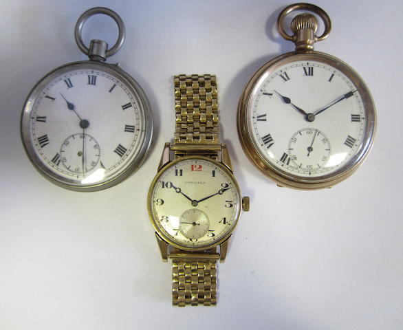 A lot of three watches