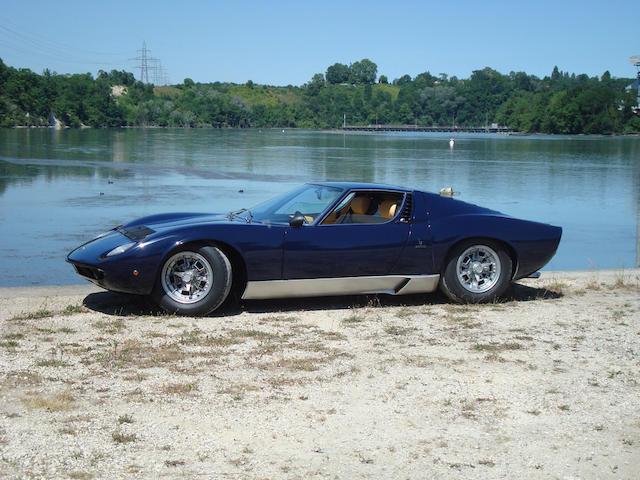 1968 Lamborghini Miura P400, Chassis no. 3739