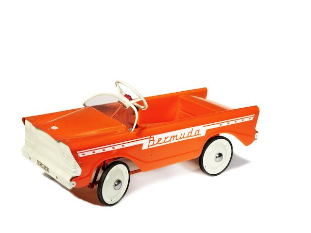 A Tri-ang T.45 'Bermuda' child's pedal car,