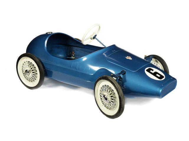 A Tri-ang 'Grand Prix Racing' child's pedal car,