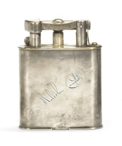 A Malcolm Campbell Dunhill Lighter, 1930s,