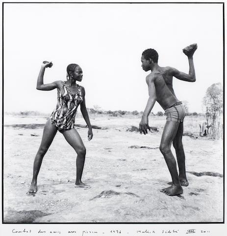 Malick Sidibé (Malian, born 1935) 89 x 87.5cm (35 1/16 x 35 7/16in), (image size); 35.5 x 35.5 cm (14 x 14in), (image size).