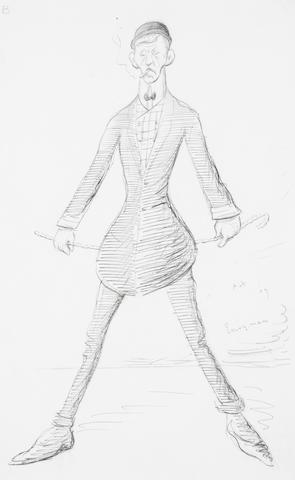 Sir Max Beerbohm (British, 1872-1956) Everyman