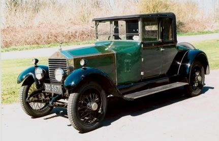 1923 Rolls-Royce 20hp Coupé, Chassis no. 66H5 Engine no. G381