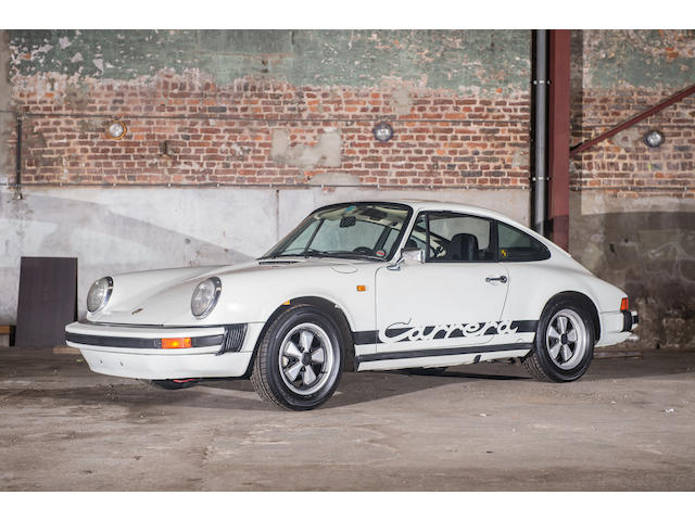 1975  Porsche  911SC Carrera 2,7 litres coupé   Chassis no. 9115600452 Engine no. 6650563
