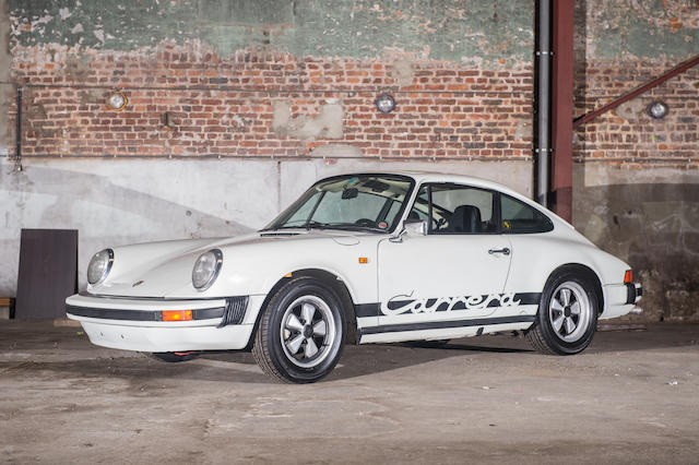 1975 Porsche 911SC Carrera 2.7-Litre Coupe  Chassis no. 9115600452 Engine no. 6650563