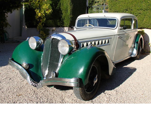 1936 Delahaye Type 135 Competition 20 CV, Chassis no. 46069 Engine no. 46069