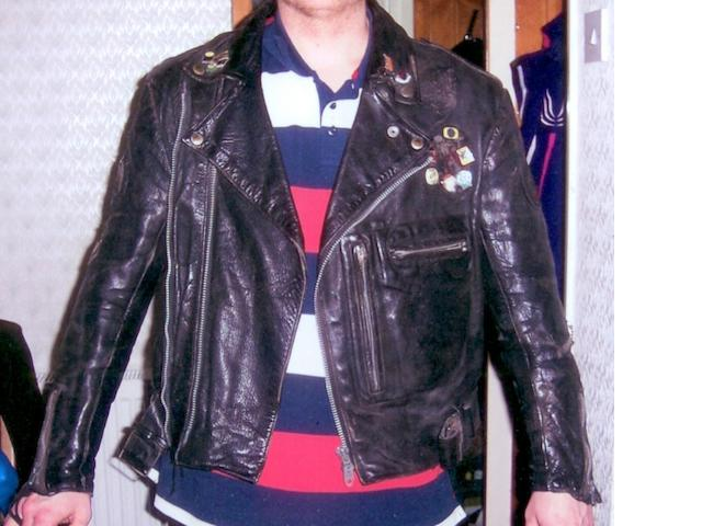 A Lewis Leathers motorcycle jacket,