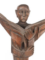 Ben (Benedict Chukwukadibia) Enwonwu, M.B.E (Nigerian, 1917-1994) Seven wooden sculptures commissioned for Daily Mirror 1961