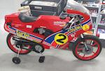 A large collection of boxed die-cast scale motorcycle models,