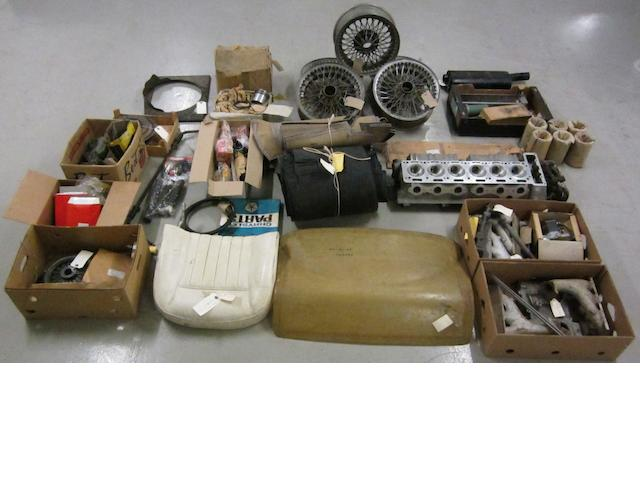 A good selection of Aston Martin DB5 and DB6 spares and accessories,