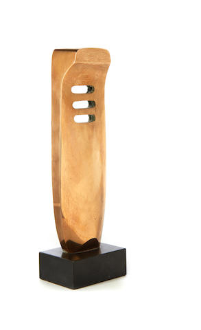 Denis Mitchell (British, 1912-1993) Gurnic 28.5cm (11 1/4in (height, including base)