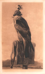 After Sir Edwin Henry Landseer, RA The Hawk and The Peregrine Falcon each 64 x 43cm (25 3/16 x 16 15/16in).