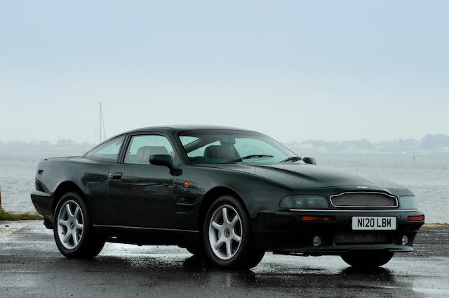 1996 Aston Martin V8 Coupé, Chassis no. SCFDAM2585BR79003 Engine no. 95/79003/A