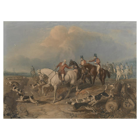 T.W. Hoffmann after John Frederick Herring Snr. Fox Hunting