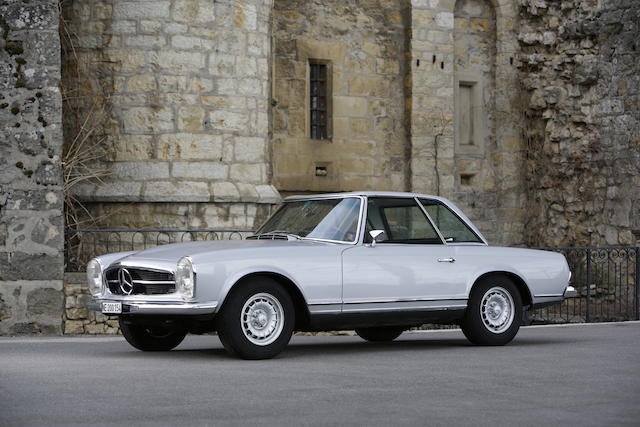 1968 Mercedes-Benz 280 SL, Chassis no. 11304410002781