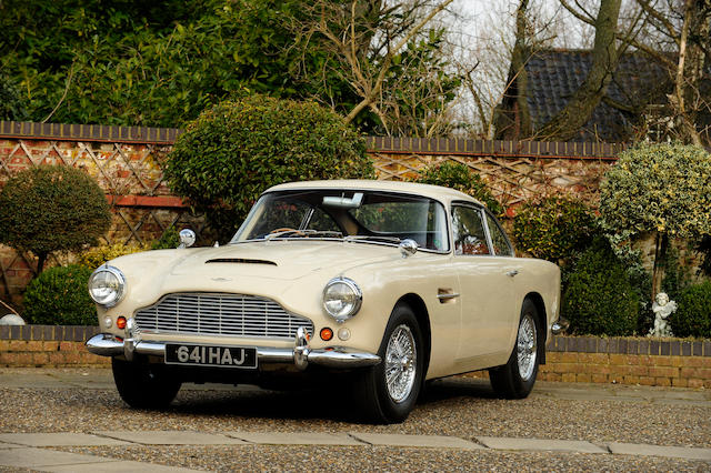 The ex-Rt Hon Viscount Downe,1962 Aston Martin DB4 'Series 3' Sports Saloon  Chassis no. DB4/913/R Engine no. 400/1269